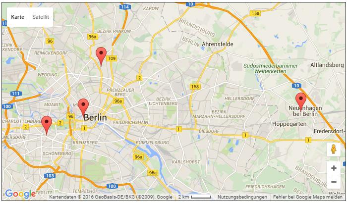 Map BVK