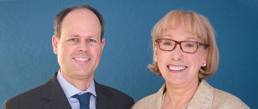 Die Experten vom Berliner Vermögenskontor: Thomas Vollkommer und Claudia Bischof