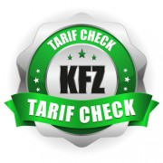 KFZ Tarif Check Siegel in grün
