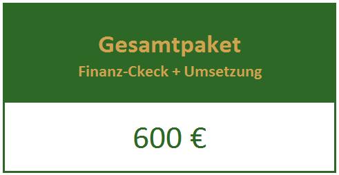 Finanz-Check + Umsetzung