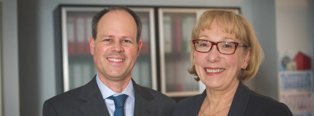 Ihre Honorarberater Claudia Bischof und Thomas Vollkommer