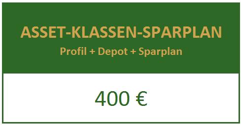 Asset-Klassen-Sparplan