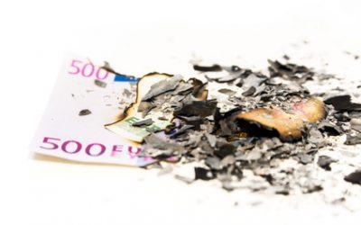 Werden die Euro-Scheine abgeschafft?